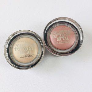 New listing! Maybelline Metal Cream Gel Eyeshadow